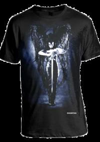 Redemption's Black Angel T-Shirt