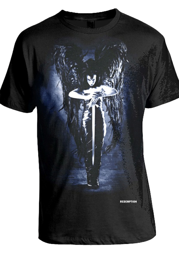 Redemption's Black Angel T-Shirt